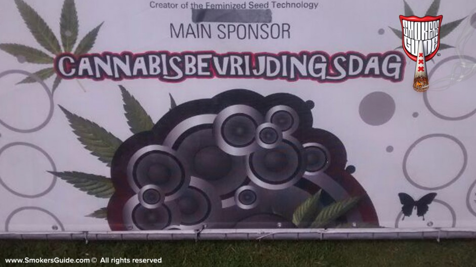 Amsterdam Celebrates Cannabis on Cannabis Liberation Day 2014 (Cannabis Bevrijdingsdag)