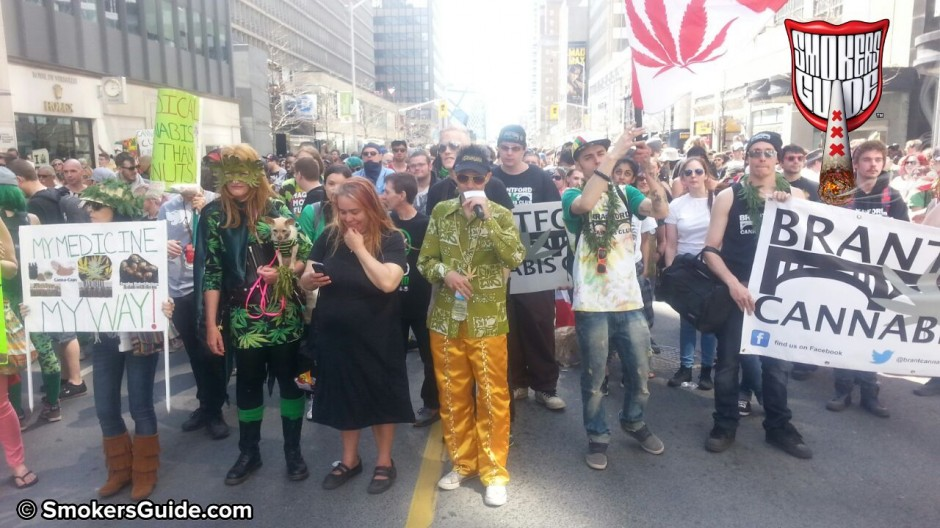 Cannabis in Canada - Thousands Join Global Marijuana March in Toronto 2015