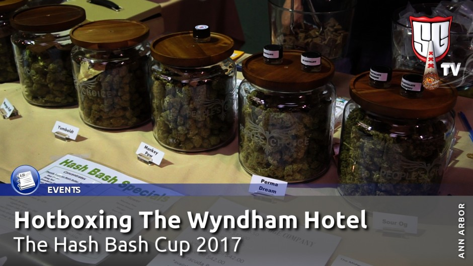 Hotboxing The Wyndham Hotel at The Hash Bash Cup 2017