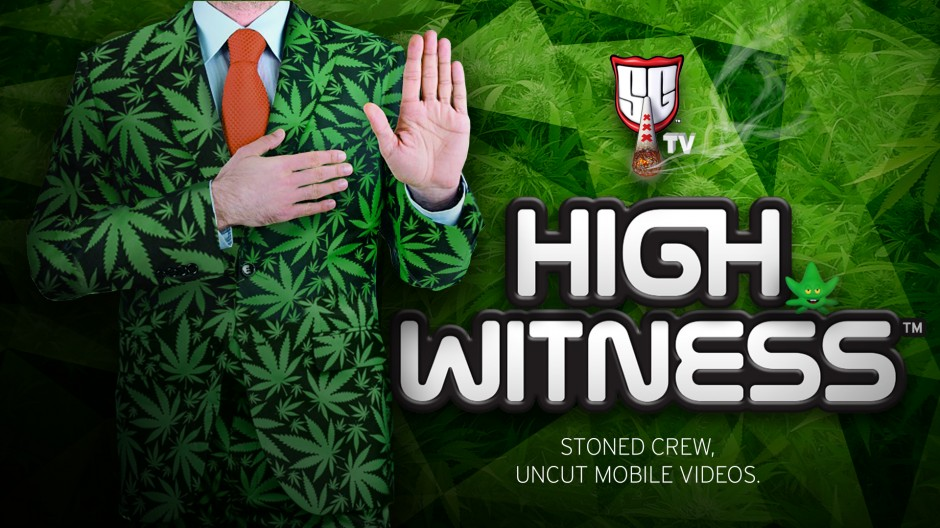 BECOME A HIGHWITNESS! NEW CANNABIS CHANNEL LAUNCHED BY SMOKERS GUIDE TV