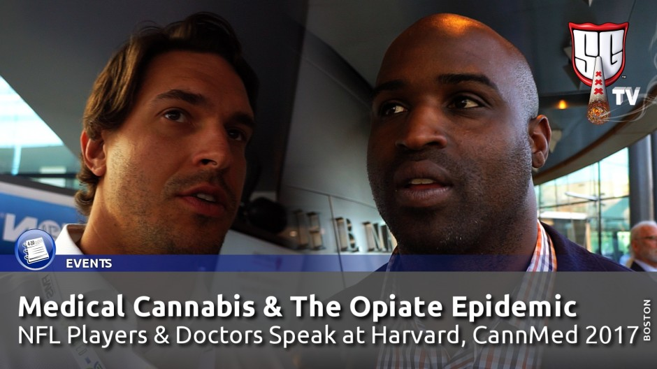 Medical Cannabis & The Opiate Epidemic: NFL Players & Doctors Speak at Harvard, CannMed 2017