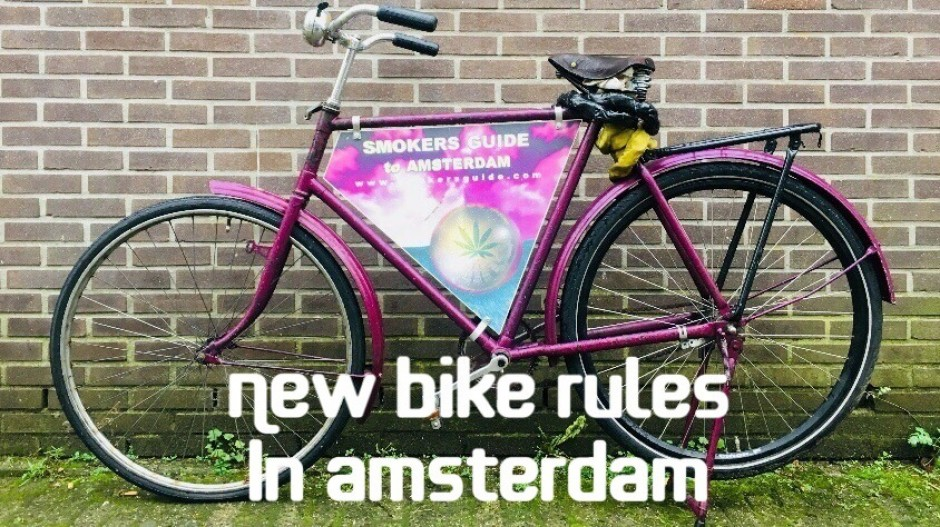 New Bike Laws in Amsterdam