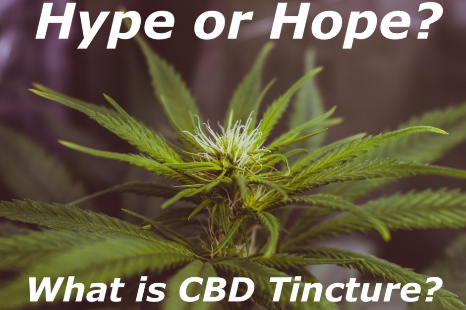 Hype or hope: What Is CBD Tincture?