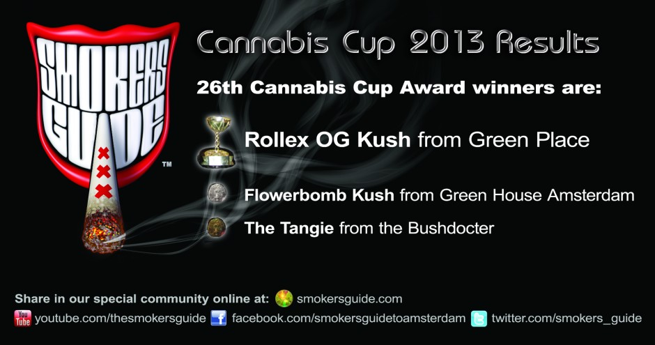 Cannabis Cup 2013 Results - The Winner Is...