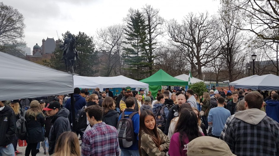 21st Annual Global Marijuana March Toronto 2019