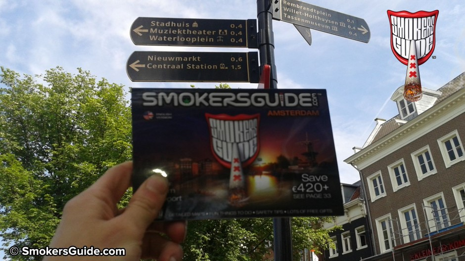 BUY THE BOOK ! Smokers Guide to Amsterdam Points of Sale