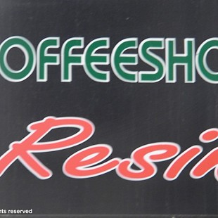SG Coffeeshop Resin Sign
