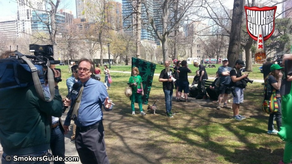SG Global Marijuana March Toront