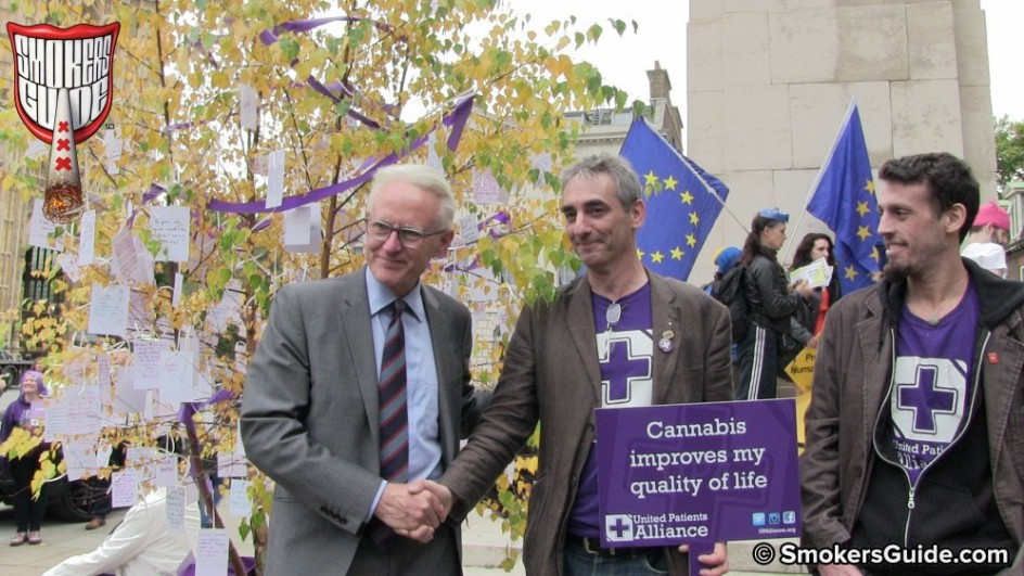 Cannabis Patients Alliance: UK To Legalise Medical Cannabis: Patients At Parliament