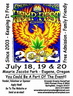 Emerald Empire Hempfest, Oregon USA