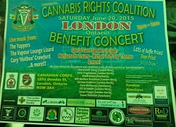 Cannabis Rights Coalition Benefit Concert