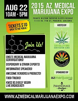 2015 AZ Medical Marijuana Expo