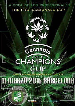 Cannabis Champions Cup Barcelona 2016
