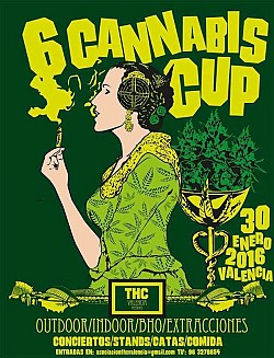 6th THC Cannabis Cup Valencia