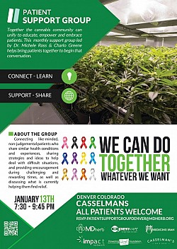 Cannabis Patient Support Group - Denver January 2016