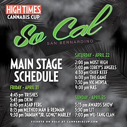 High Times US Cannabis Cup SoCal 2017