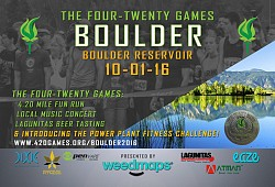 2016 Boulder Reservoir 420 Games