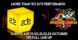 Amsterdam Dance Event ADE at The Kashmir Lounge