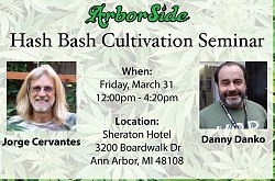 Hash Bash Cultivation Seminar 2017 ft. Jorge Cervantes & Danny Danko