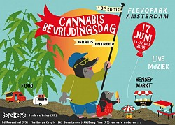 10th Edition Cannabis Liberation Day (Bevrijdingsdag), Amsterdam
