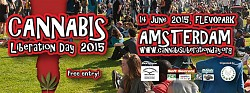 Cannabis Liberation Day (Cannabis Bevrijdingsdag 2015)